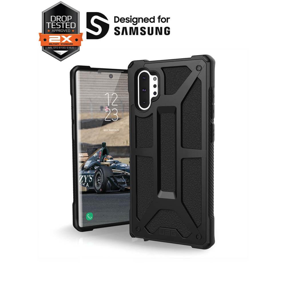 Urban Armor Gear Monarch — удароустойчив хибриден кейс за Samsung Galaxy Note 10 (черен) - 3