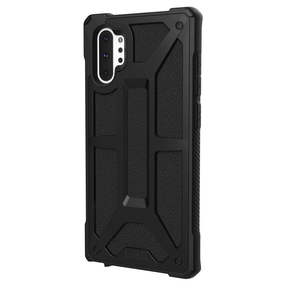 Urban Armor Gear Monarch — удароустойчив хибриден кейс за Samsung Galaxy Note 10 (черен) - 1