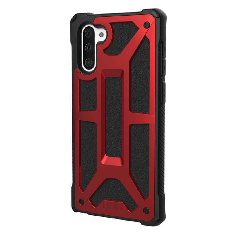 Urban Armor Gear Monarch — удароустойчив хибриден кейс за Samsung Galaxy Note 10 (червен) - 1