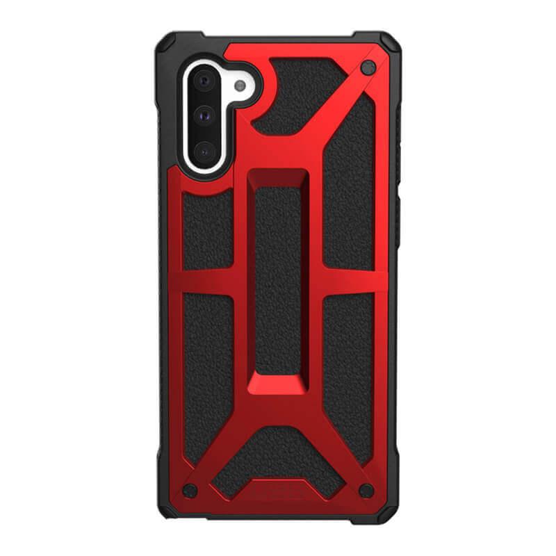 Urban Armor Gear Monarch — удароустойчив хибриден кейс за Samsung Galaxy Note 10 (червен) - 4