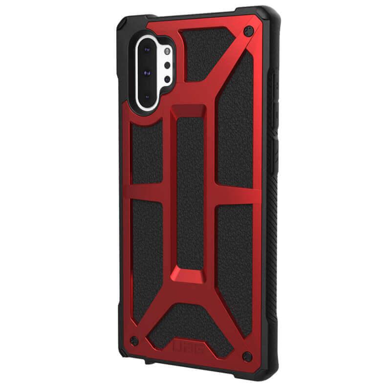 Urban Armor Gear Monarch — удароустойчив хибриден кейс за Samsung Galaxy Note 10 Plus (червен) - 2
