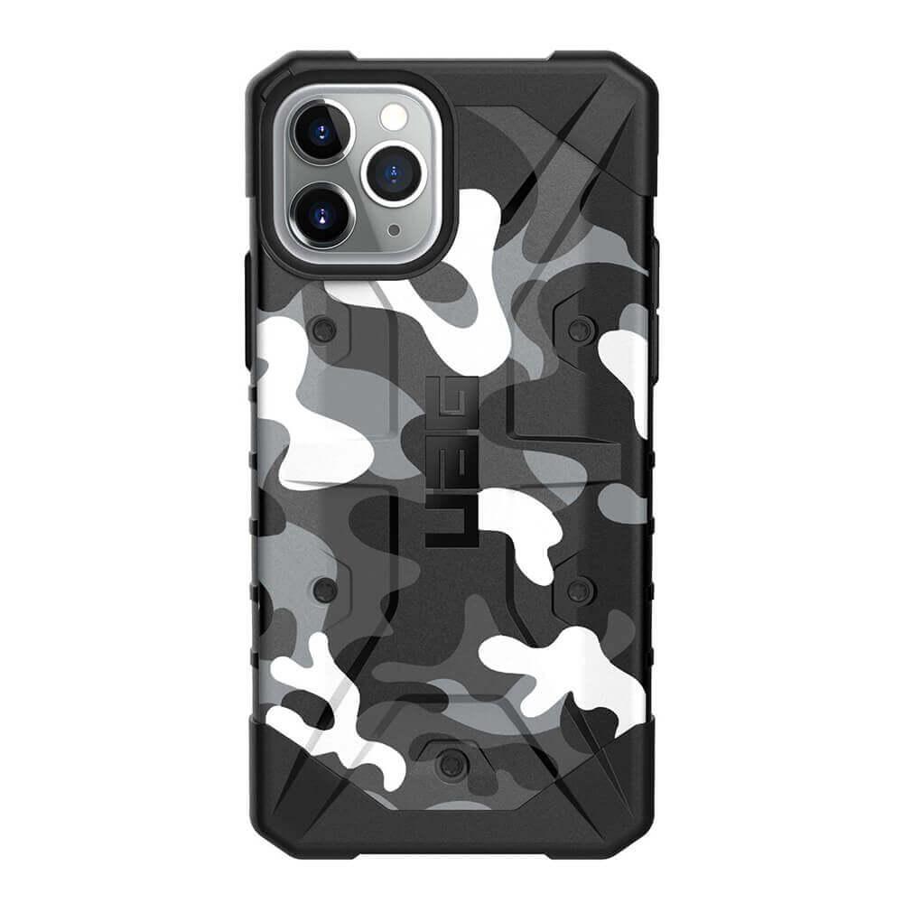 Urban Armor Gear Pathfinder Camo — удароустойчив хибриден кейс за iPhone 11 Pro (бял камуфлаж) - 2