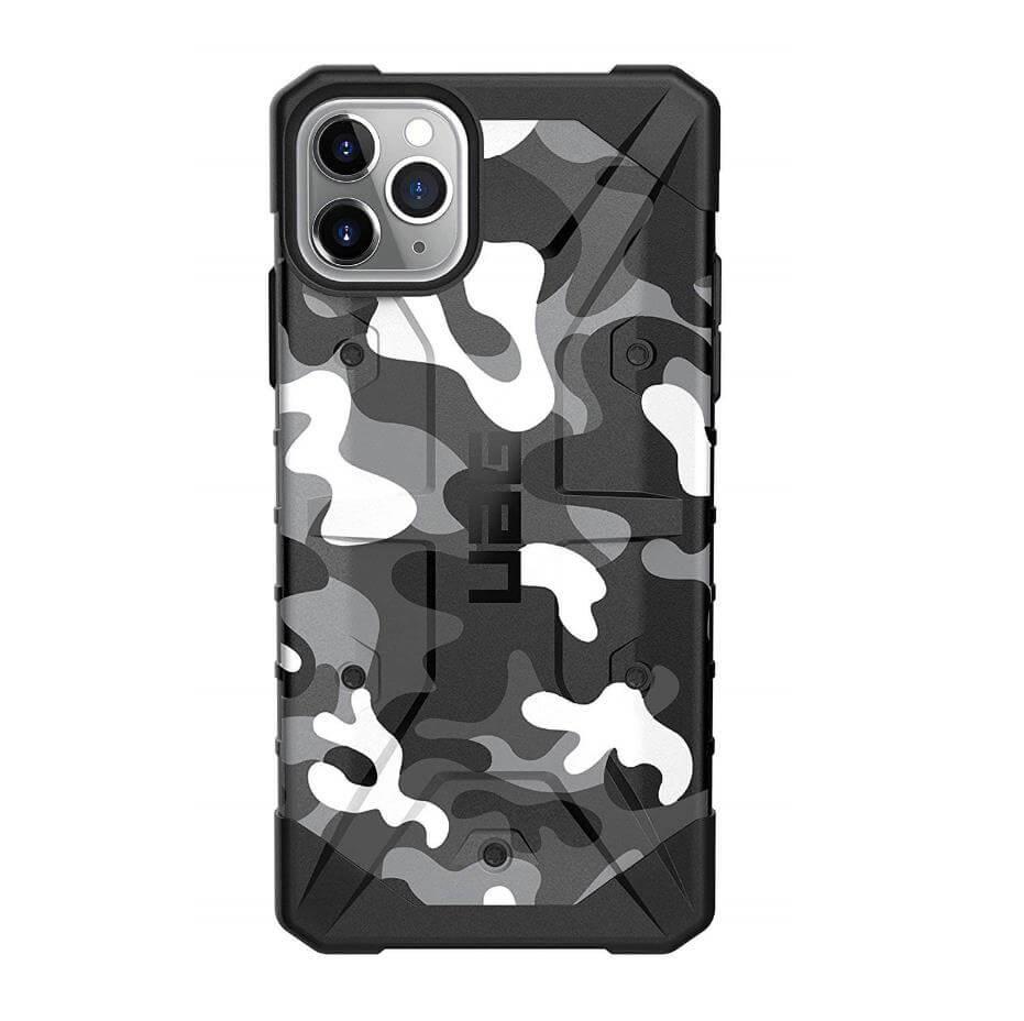 Urban Armor Gear Pathfinder Camo — удароустойчив хибриден кейс за iPhone 11 Pro Max (сив камуфлаж) - 5