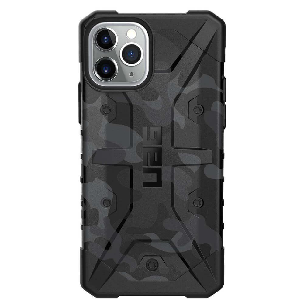 Urban Armor Gear Pathfinder Camo — удароустойчив хибриден кейс за iPhone 11 Pro (сив камуфлаж) - 2