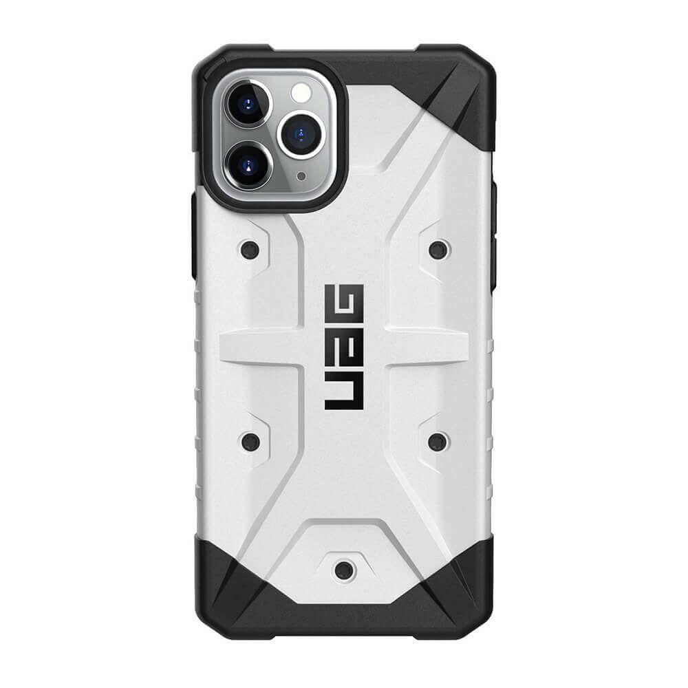 Urban Armor Gear Pathfinder — удароустойчив хибриден кейс за iPhone 11 Pro (бял) - 3