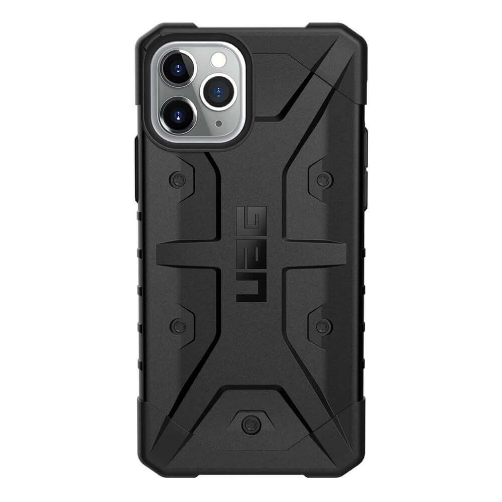 Urban Armor Gear Pathfinder — удароустойчив хибриден кейс за iPhone 11 Pro (черен) - 2