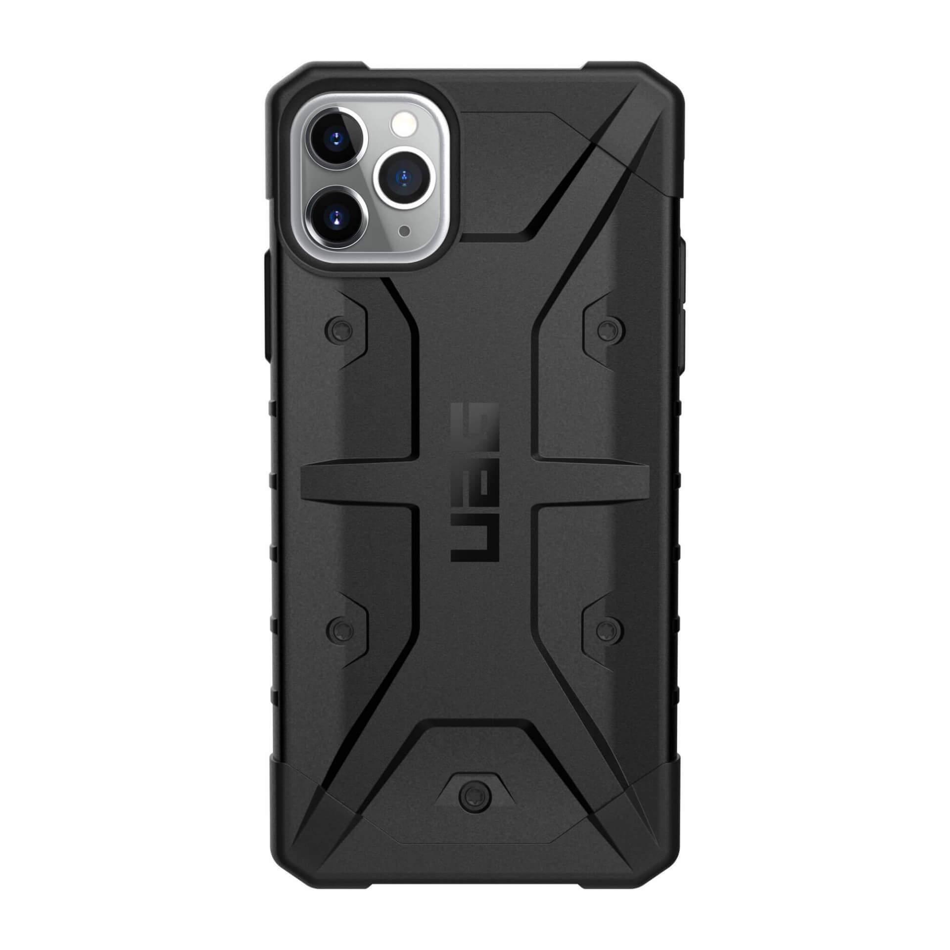 Urban Armor Gear Pathfinder — удароустойчив хибриден кейс за iPhone 11 Pro Max (черен) - 3