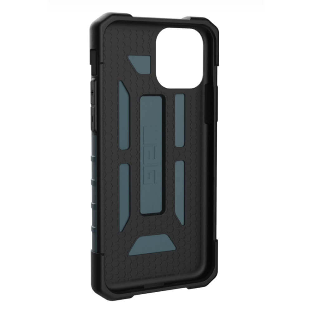 Urban Armor Gear Pathfinder — удароустойчив хибриден кейс за iPhone 11 Pro (син) - 4