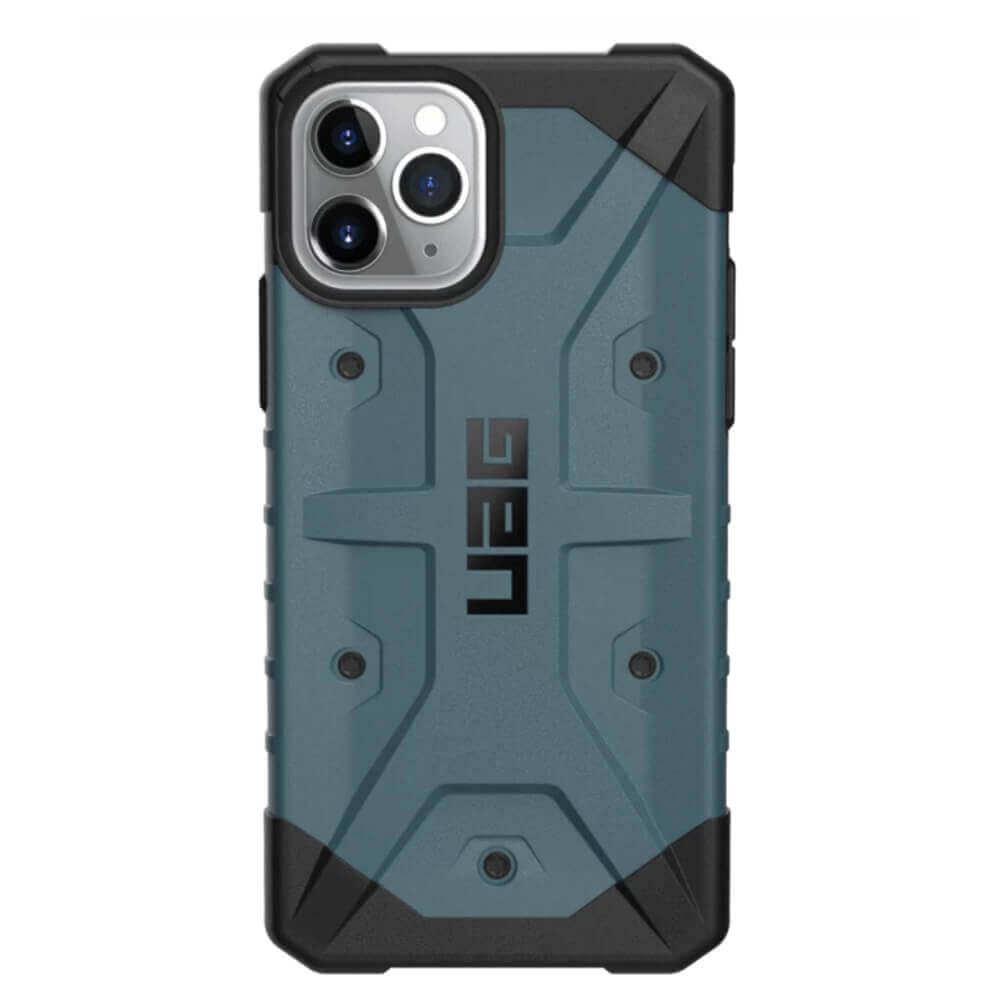 Urban Armor Gear Pathfinder — удароустойчив хибриден кейс за iPhone 11 Pro (син) - 3