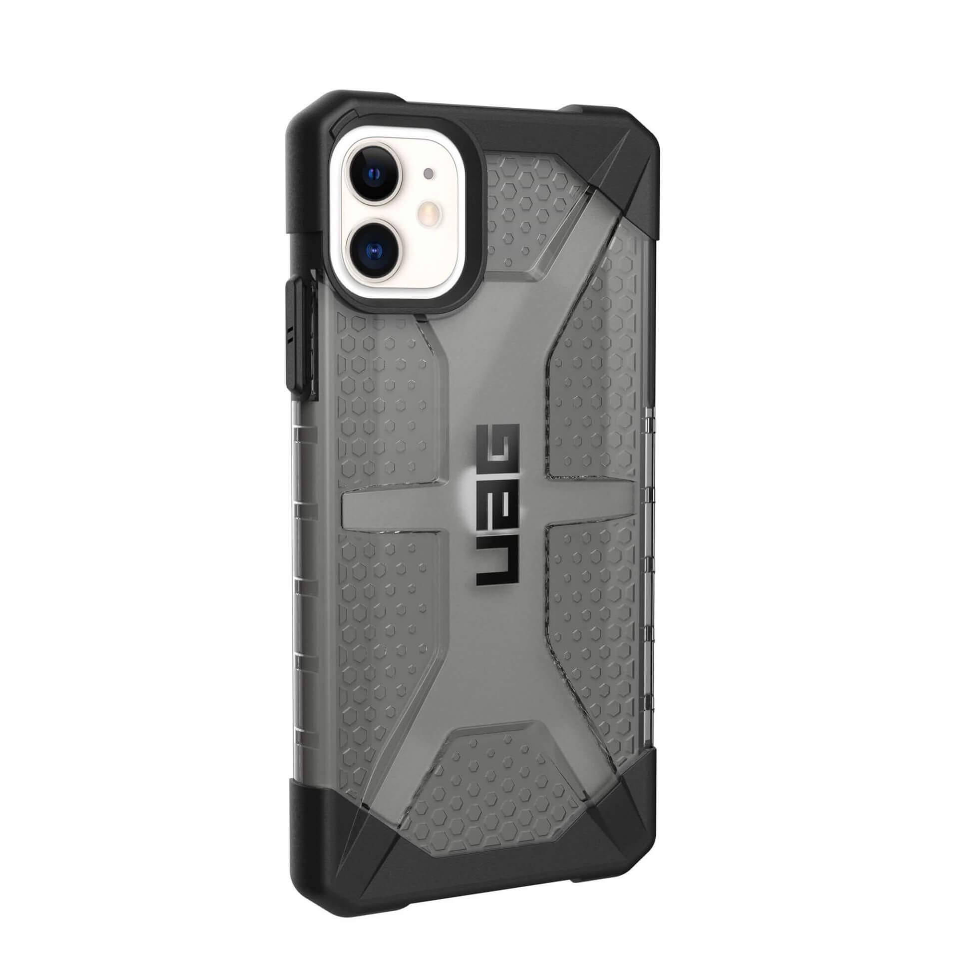 Urban Armor Gear Plasma — удароустойчив хибриден кейс за iPhone 11 (черен-прозрачен) - 3