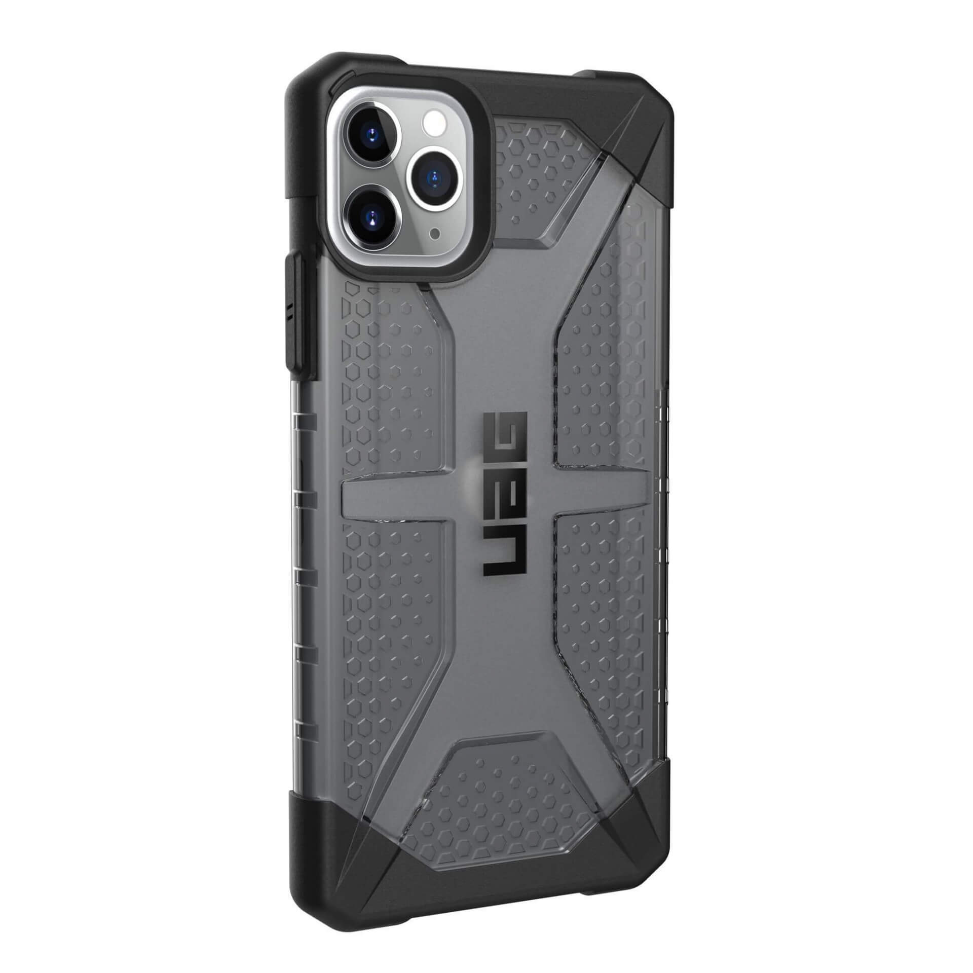 Urban Armor Gear Plasma — удароустойчив хибриден кейс за iPhone 11 Pro Max (черен) - 4