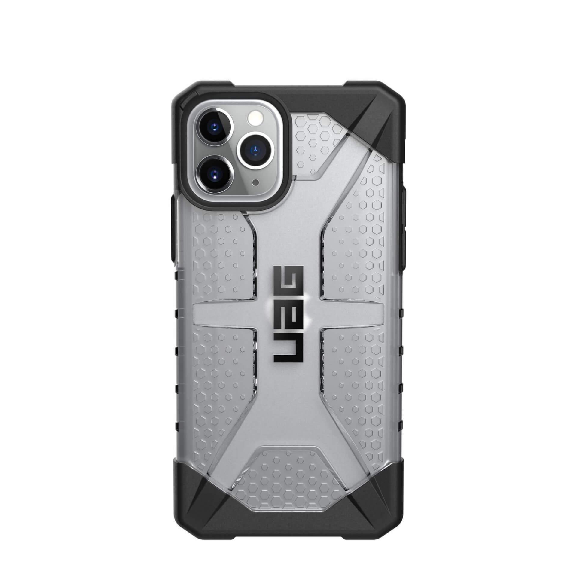 Urban Armor Gear Plasma — удароустойчив хибриден кейс за iPhone 11 Pro Max (прозрачен) - 2