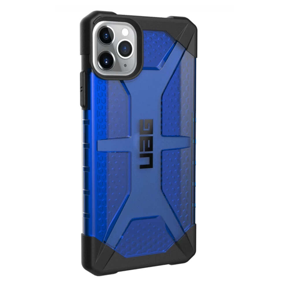 Urban Armor Gear Plasma — удароустойчив хибриден кейс за iPhone 11 Pro Max (син) - 4