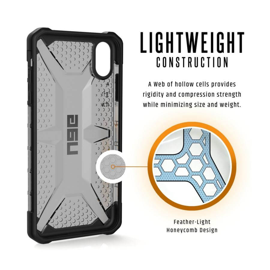 Urban Armor Gear Plasma — удароустойчив хибриден кейс за iPhone XS Max (черен) (bulk) - 2