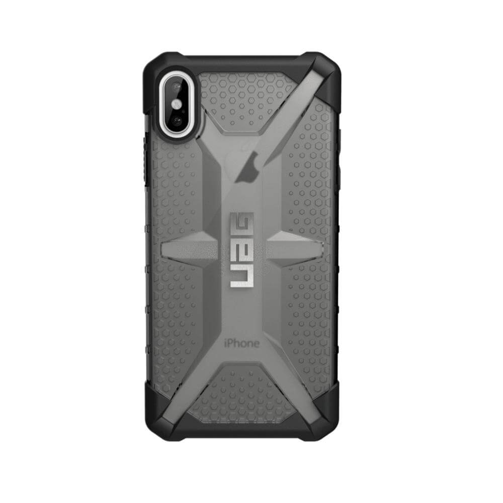Urban Armor Gear Plasma — удароустойчив хибриден кейс за iPhone XS Max (черен) (bulk) - 4
