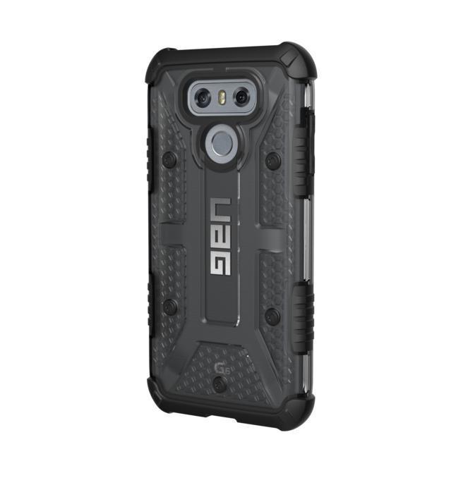 Urban Armor Gear Plasma — удароустойчив хибриден кейс за LG G6 (черен-прозрачен) - 2