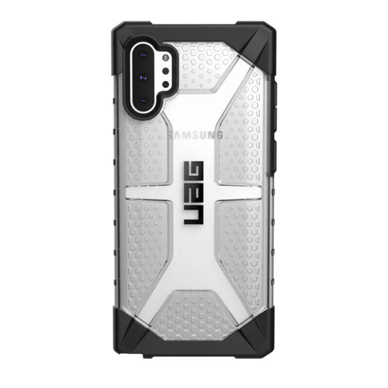 Urban Armor Gear Plasma — удароустойчив хибриден кейс за Samsung Galaxy Note 10 Plus (прозрачен) - 4