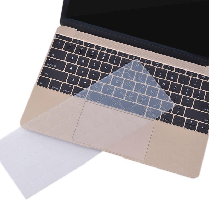 ZKY Keyboard Cover — силиконов протектор за клавиатурата на MacBook Pro (без touch Bar) (модел след 2016) (прозрачен-мат) (bulk) - 2