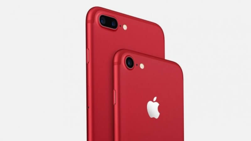 Apple пуска червени iPhone 7 и 7 Plus